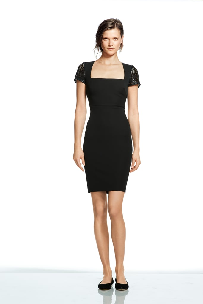 Roland Mouret Collection For Banana Republic Lace Sleeve Dress