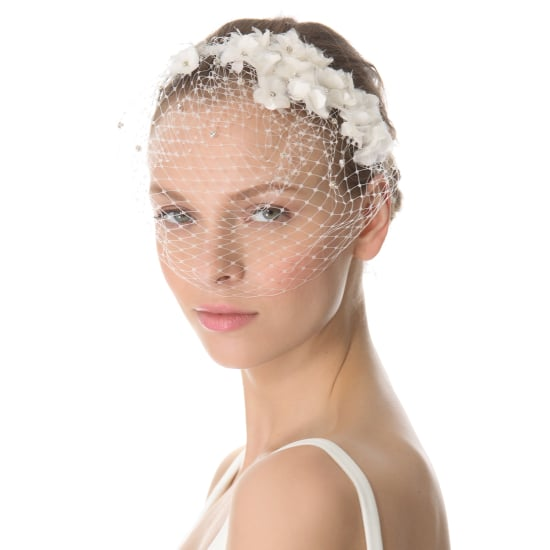 18 of the Prettiest Wedding Veils and Headpieces to Walk Down the Aisle In