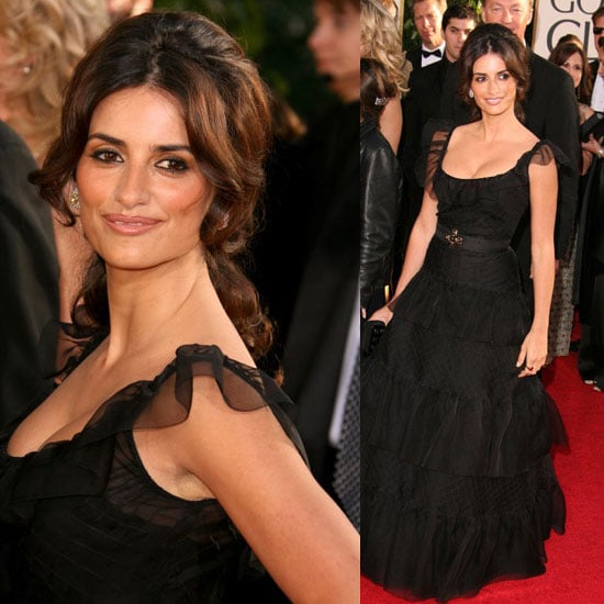 The Golden Globes Red Carpet: Penelope Cruz
