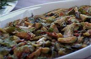 Unexpectedly Good Side: Brussels Sprouts Gratin