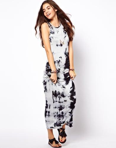 ASOS Maxi Dress in Tie Dye