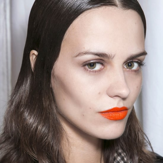 How to Wear the Orange Lipstick Trend