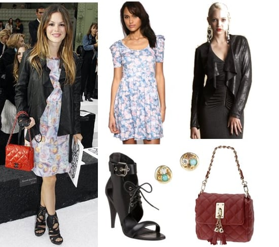Pictures of Rachel Bilson at Chanel 2011 Spring Show