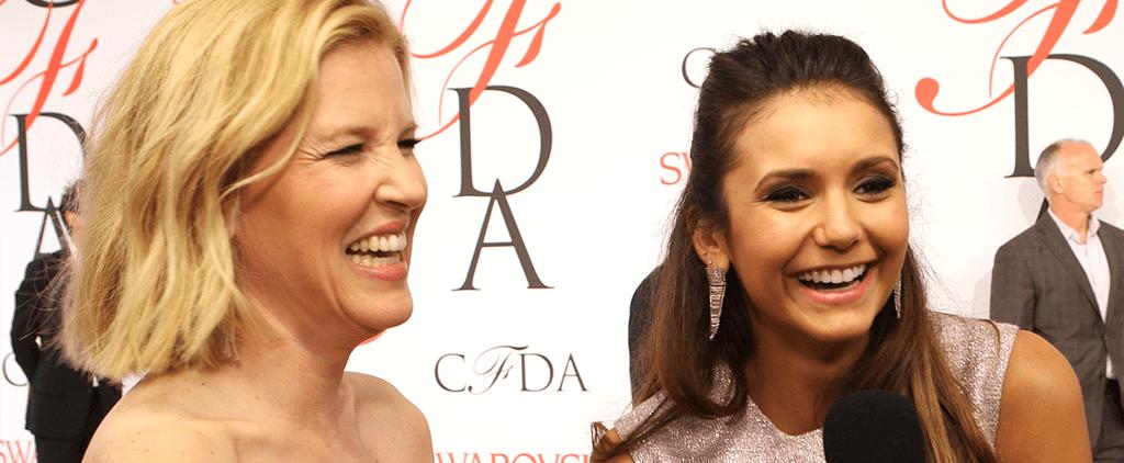 Nina Dobrev Rocks a Gorgeous Lela Rose 2-Piece at CFDA Awards 2015