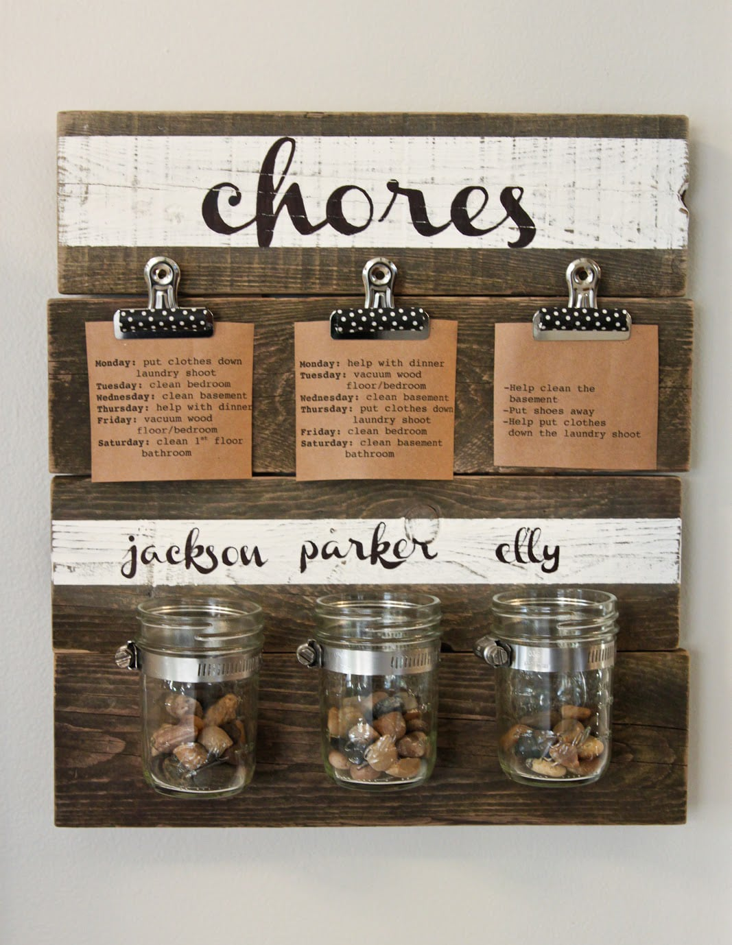 Chore Jars
