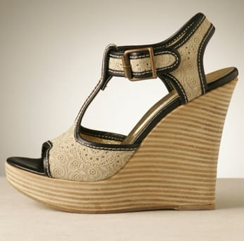 Fab's Spring Shoe Guide! Wood-Heeled Wedges