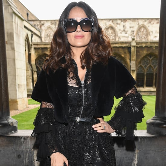 Salma Hayek at Gucci Cruise Show 2016