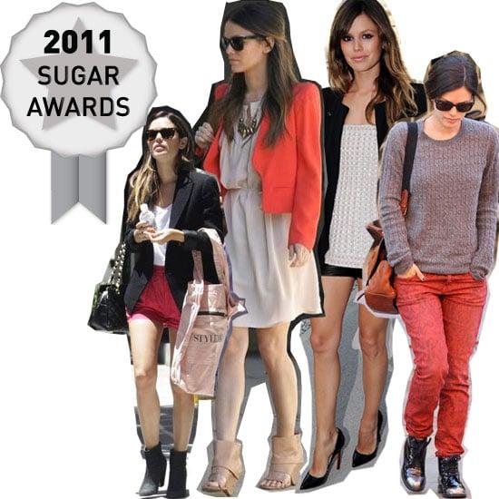 Rachel Bilson's Killer Street Style Wins Our Off-Duty Celebrity Sugar Award for 2011: See Why
