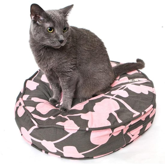 la vie en rose cat duvet, round ($20)