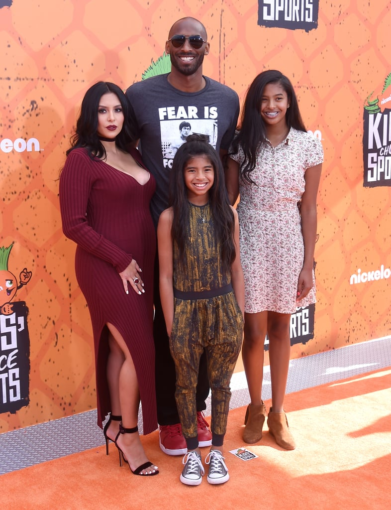 Kobe Bryant at Kids' Choice Sports Awards With His ...