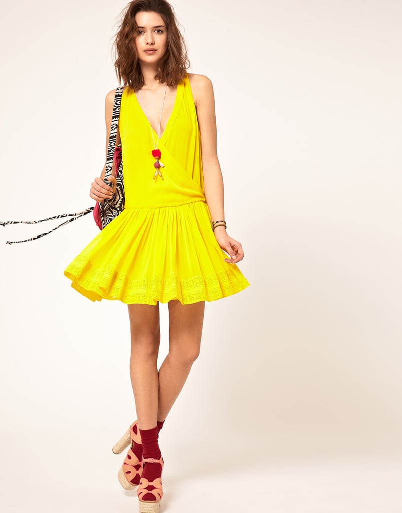 ASOS Dress With Dropped Waist ($72)