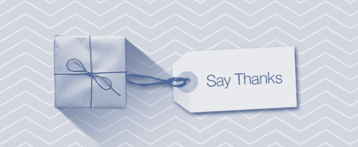 "Facebook Gets Its Hallmark On With New ""Say Thanks"" Feature"