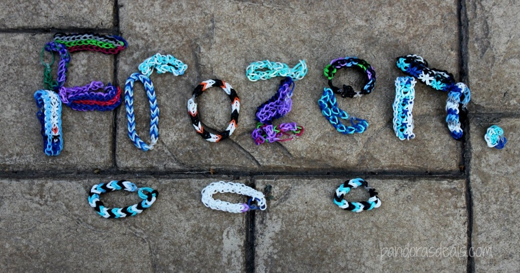 Frozen Inspired Rainbow Looms