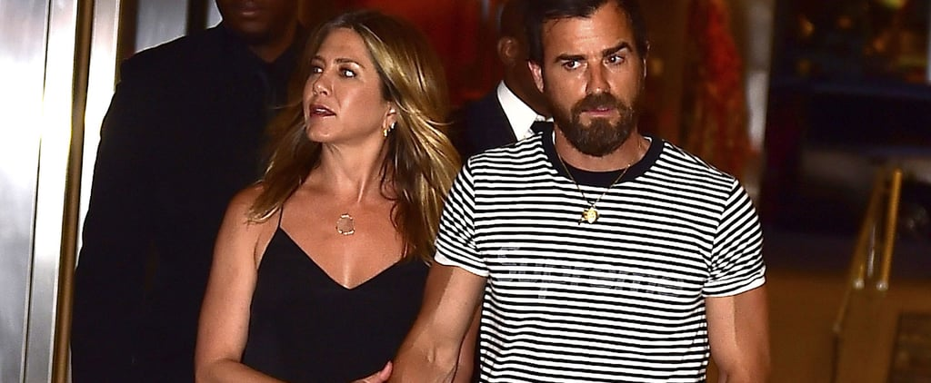 Jennifer Aniston and Justin Theroux Continue to Take NYC by Storm