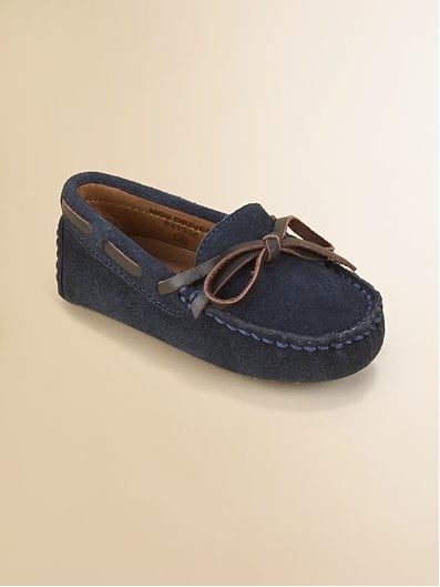 Cole Haan Infant's Suede Moccasin Drivers ($38)