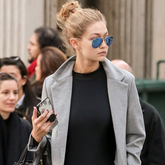 Gigi Hadid Wearing Ballet Outfit in New York