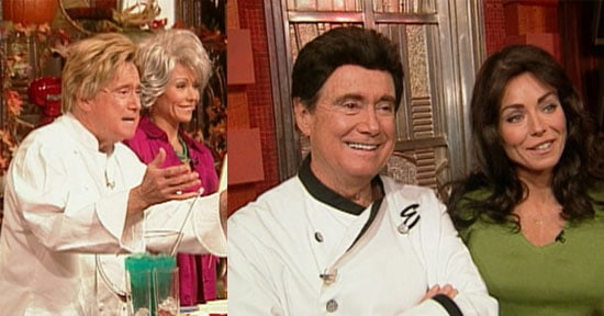 Regis and Kelly Dress as Celebrity Chefs