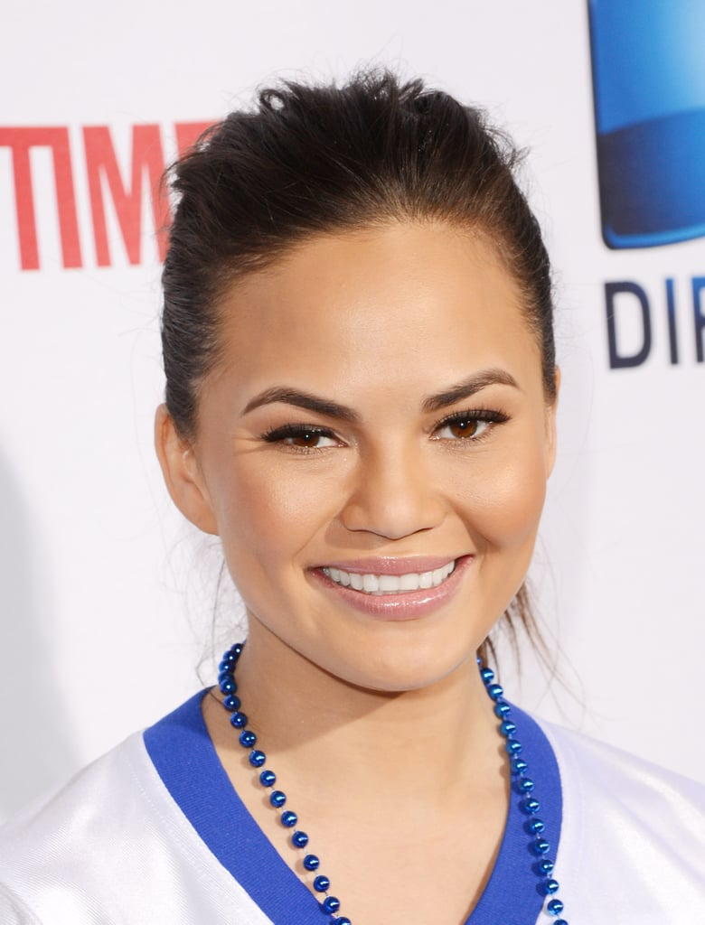 Chrissy Teigen was one of many celebrities to partake in the 7th Annual Celebrity Beach Bowl game on Saturday in New Orleans.