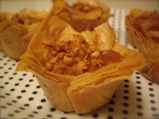 Bite-Size Pumpkin Pies With a Baklava Twist
