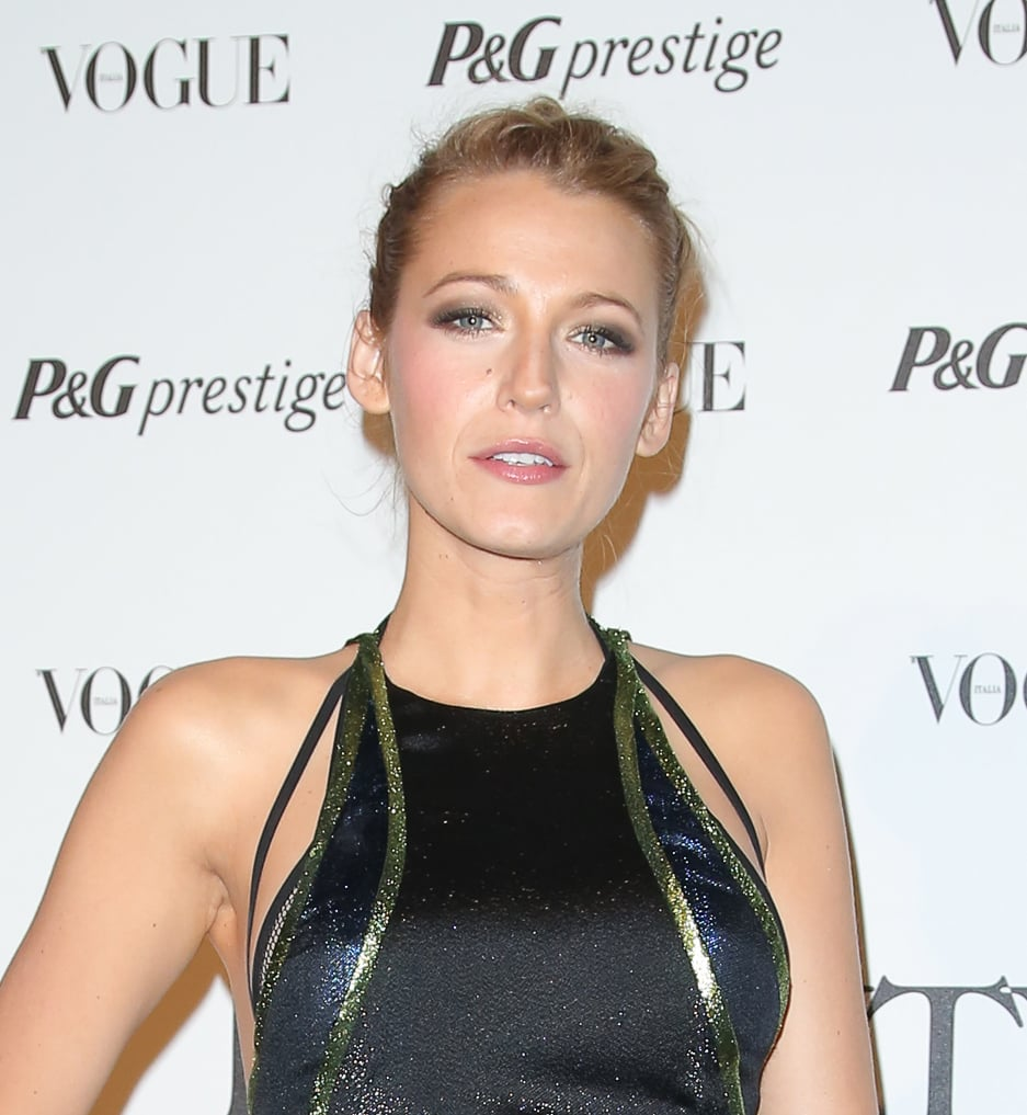 Blake Lively at P&G's Beauty in Wonderland event.