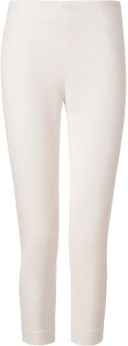 Joseph Off-White Cropped Gabardine Stretch New Tony Pants