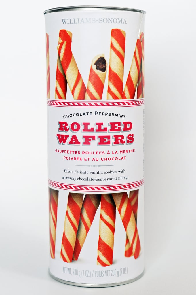 Williams-Sonoma Chocolate Peppermint Rolled Wafers