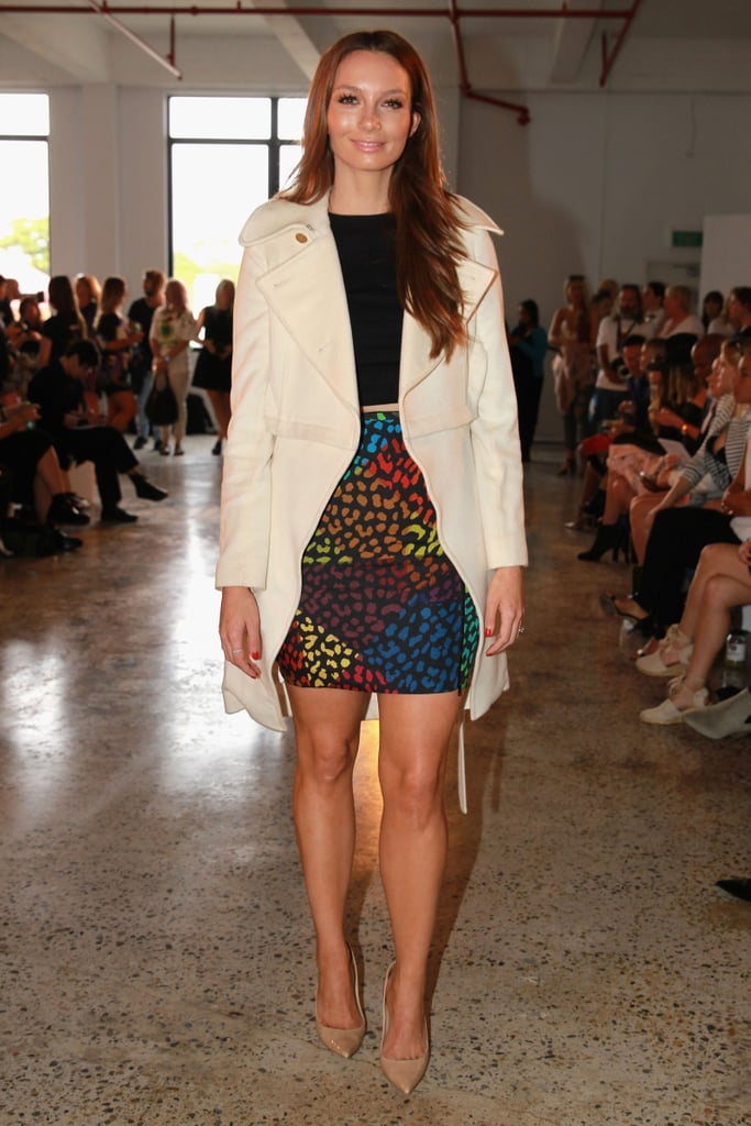 Ricki-Lee Coulter at MBFWA Day Three