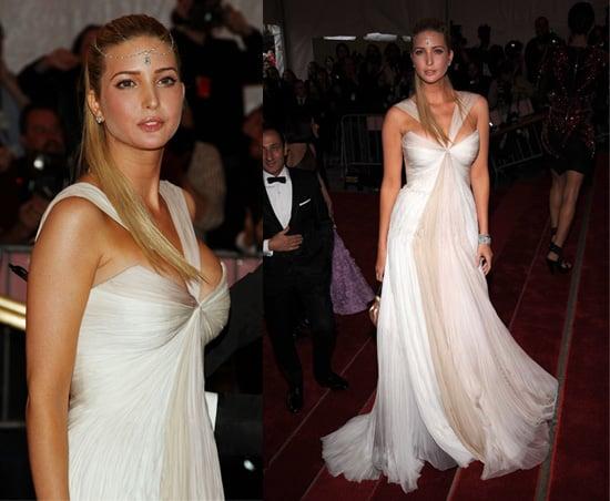 The Met's Costume Institute Gala: Ivanka Trump
