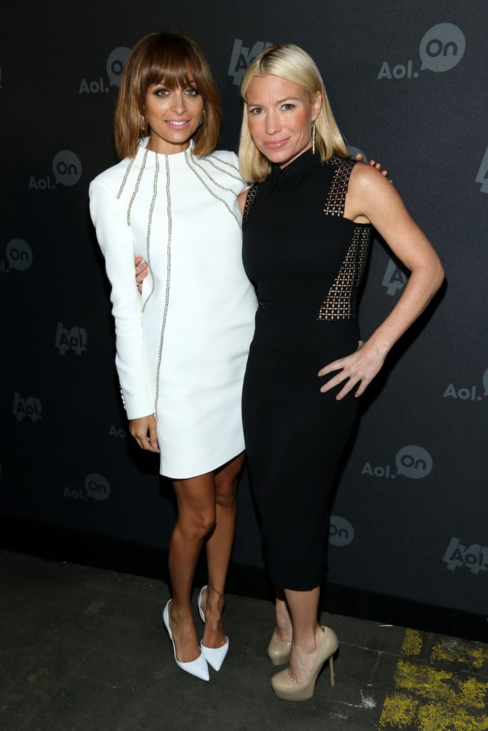 Nicole Richie posed with Tracy Anderson, who is launching a show with Gwyneth Paltrow.