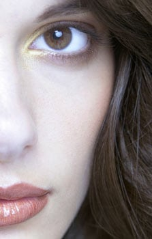 How to Wear Gold Eyeliner