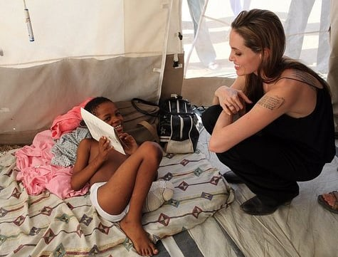 Speed Read! Angelina Jolie Shares the Attention With Haiti
