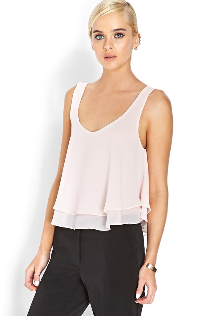 Forever 21 Pastel Moment Flowy Tank ($10)