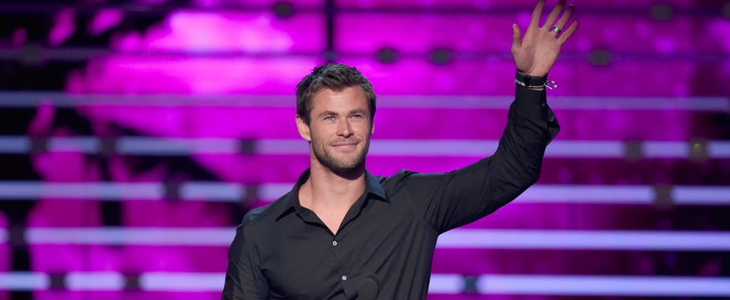 Chris Hemsworth Was Clearly the Hottest Part of the People's Choice Awards