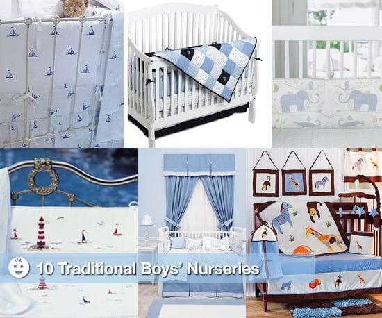 Traditional Boys' Nurseries