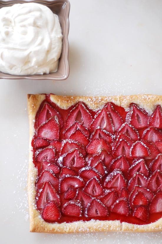 Easy Strawberry Puff Pastry Tart