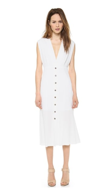 Theyskens' Theory White Dress