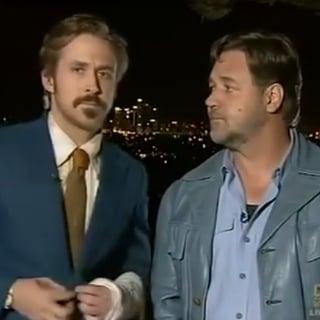 Ryan Gosling Videobombs Russell Crowe