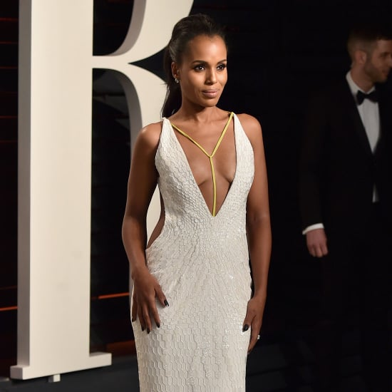 Kerry Washington's Dress at Vanity Fair Oscars Party 2016