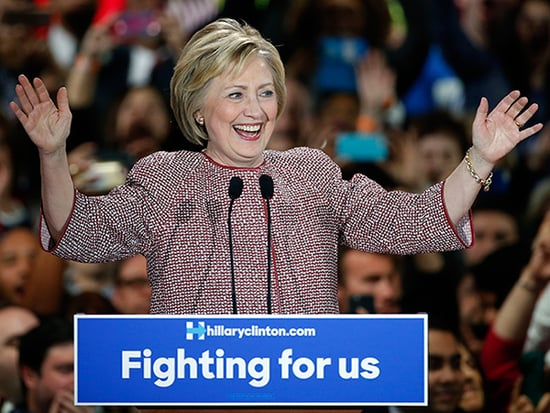 Hillary Clinton Wears a $12,495 Armani Jacket During Speech About Inequality, Twitter Reacts
