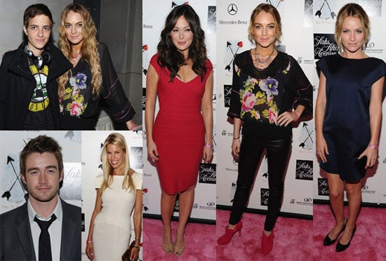 Photos of Lindsay Lohan, Lindsay Price, Robert Buckley on Red Carpet At Key to the Cure Event, Beth Ostrosky After Honeymoon