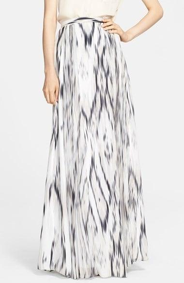 Parker Ikat-Print Maxi Skirt