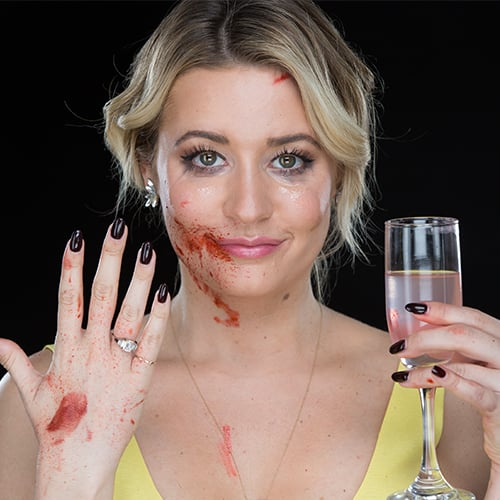 Halloween Hack: Create Fake Blood With Dish Soap
