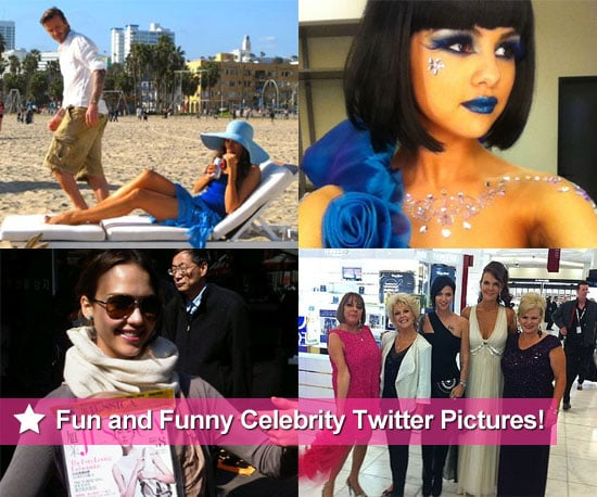 Fun and Funny Celebrity Twitter Pictures From Jessica Alba, Selena Gomez, Sofia Vergara and More