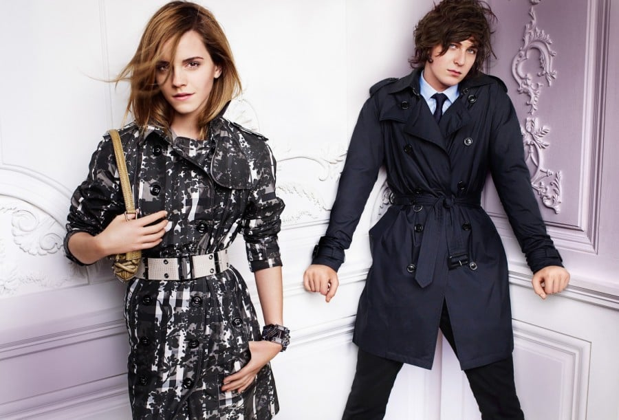 Burberry Spring 2010 Featuring Emma and Alex Watson
