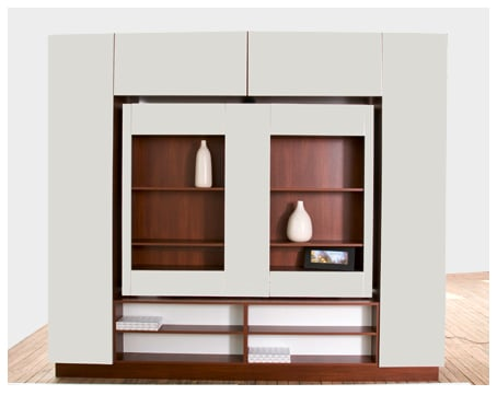 Photos of the TV Room Divider