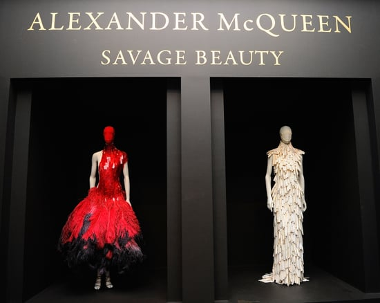 Anna Wintour at Alexander McQueen Met Exhibit