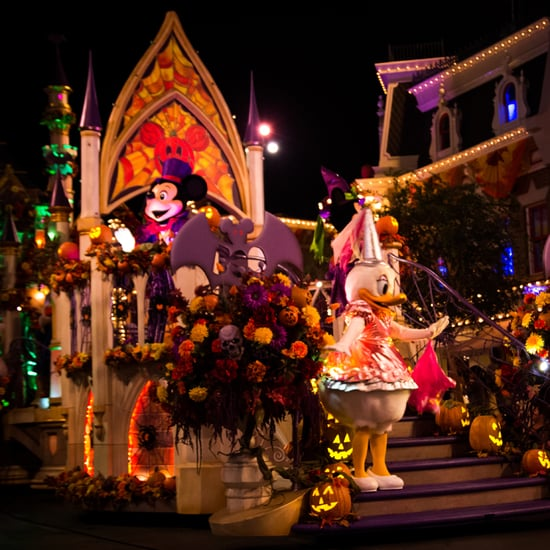 New Parade in Mickey's Halloween Party at Disneyland