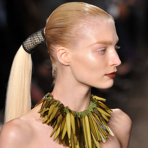 The Horsey Tails at Donna Karan