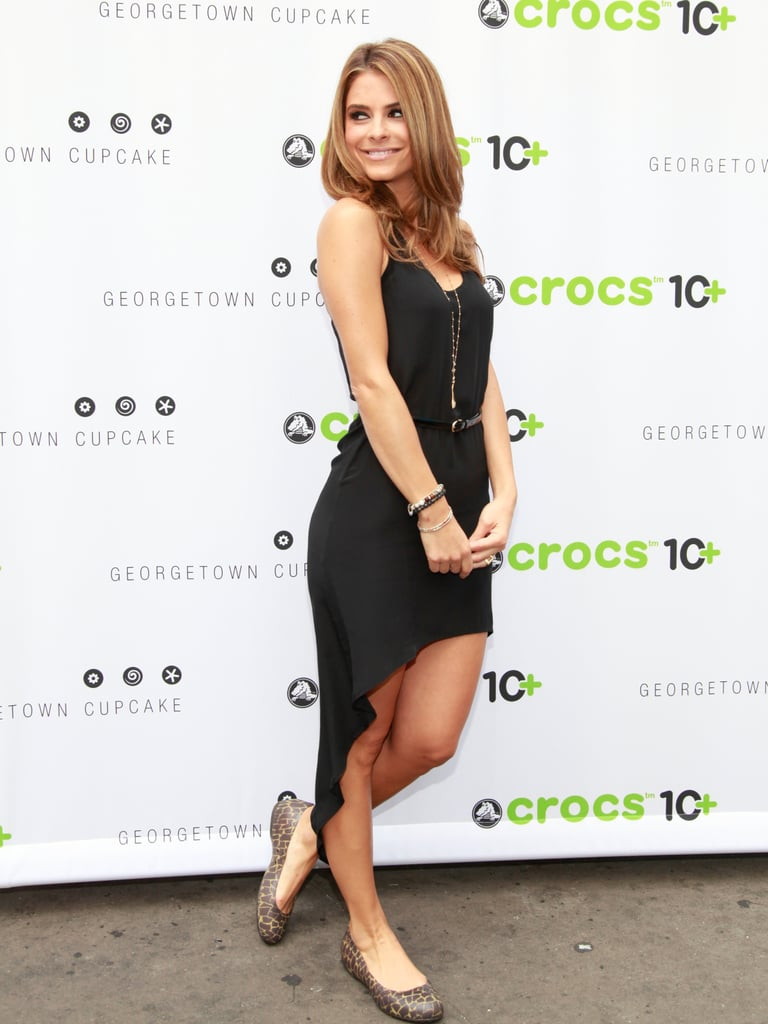 Because Crocs were meant to be comfy, not cute. Sorry, Maria Menounos.