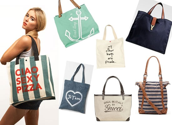 Shop Our Top Ten Online Buys For Canvas Carry Bags: Ban the Plastic!